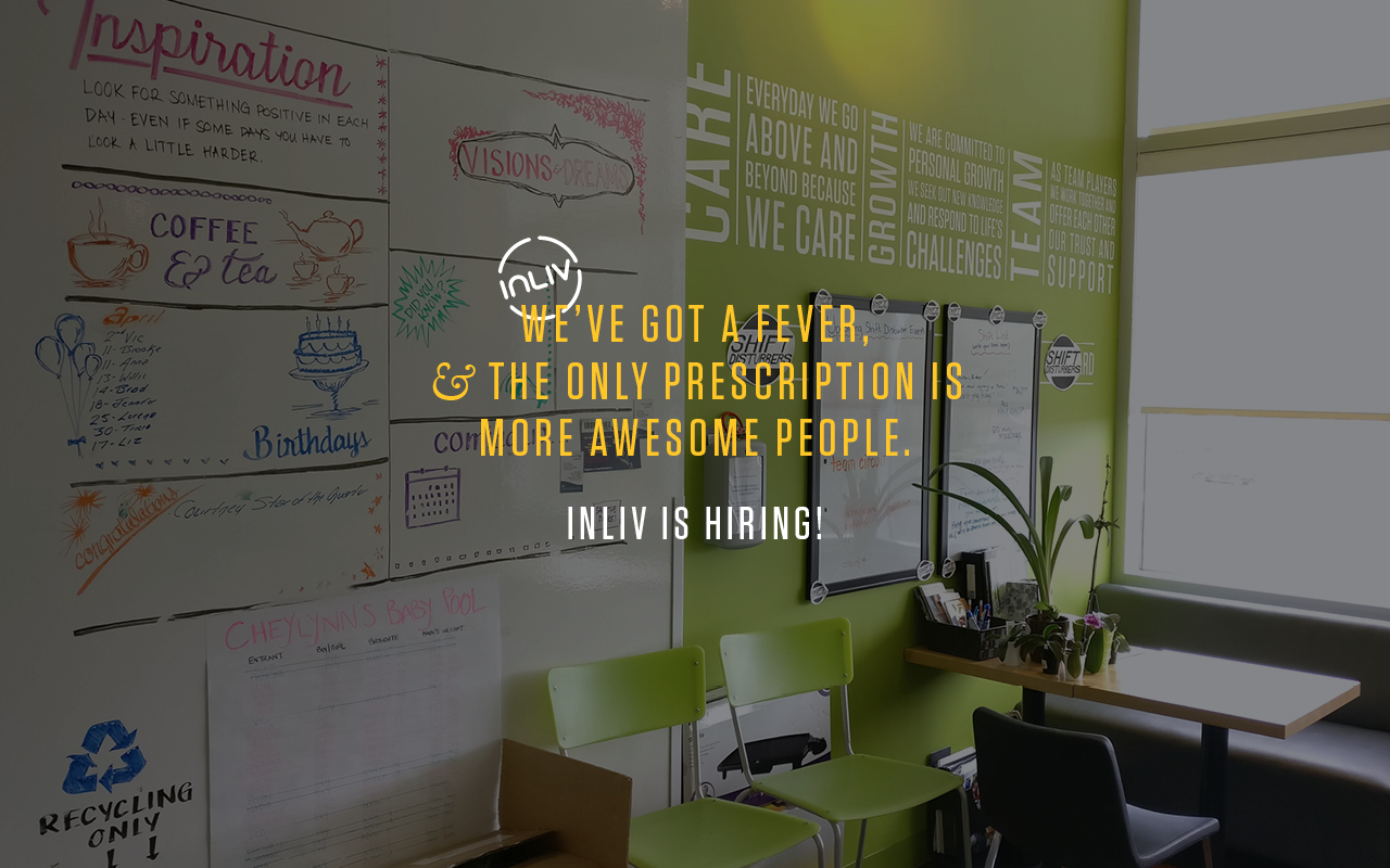 INLIV is hiring