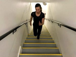 ease stress with exercise