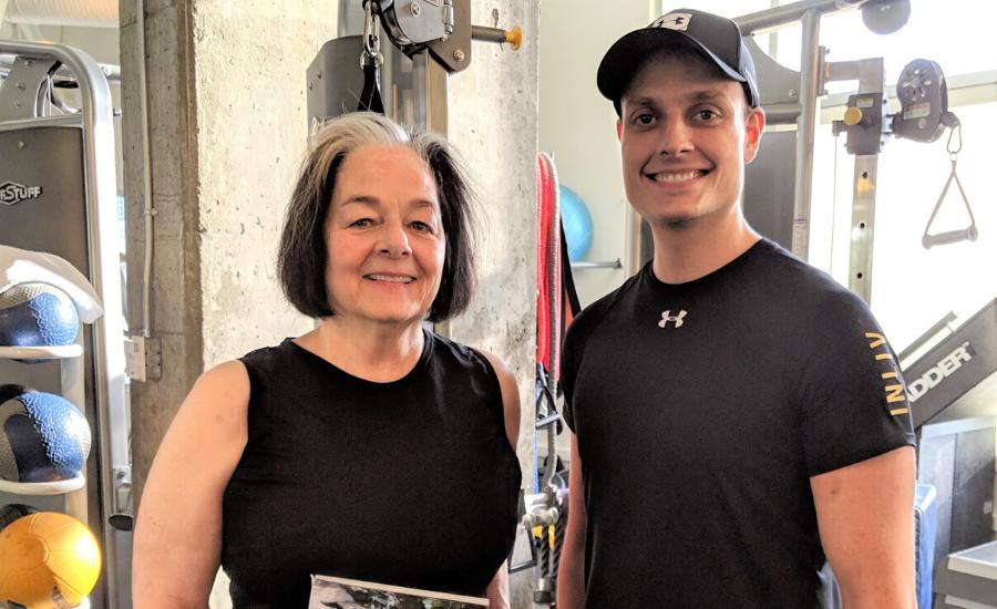 INLIV Fitness Client Spotlight – Bev