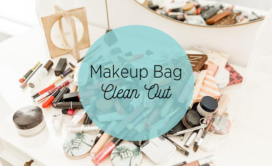 Your makeup bag needs a clean bill of health, too!