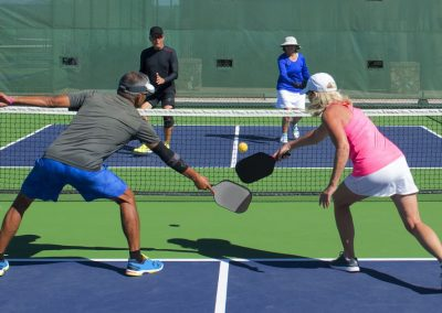 Pickleball isn't just fun, it's a great workout too!