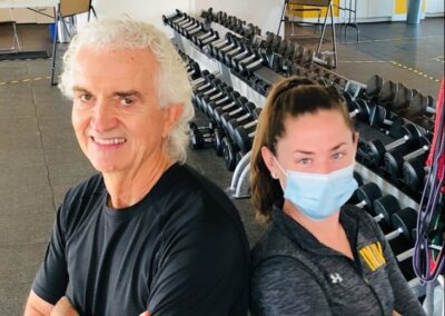 INLIV Fitness Client and Trainer Spotlight – Ken and Jamie